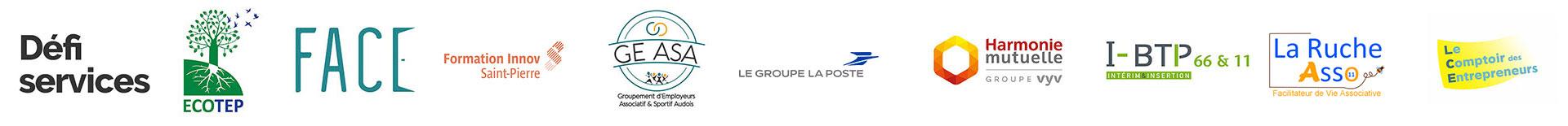 FACE Aude Entreprises adhérentes 2021