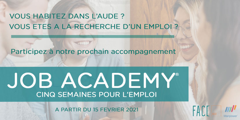 FACE Aude Actions EMPLOI JOB ACADEMY