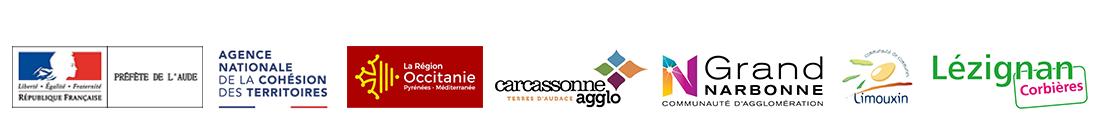 L'Aude une chance, Partenaires institutionnels